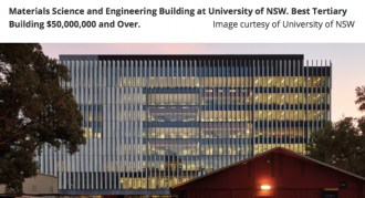 University of NSW - Material Science and Engineering Building